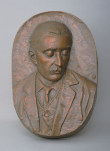 "Minoru Kurasawa, ""Relief of Koizumi Yakumo"""