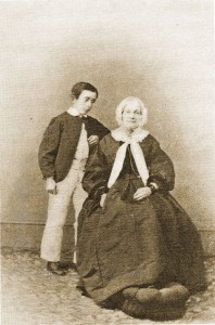 Lafcadio Hearn and his grandaunt Sarah Brenane